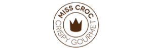 logotipo miss croc crispy gourmet