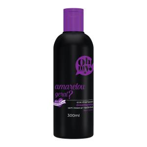 embalagem shampoo oh my! amarelou geral 300ml
