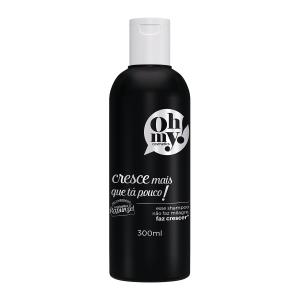 embalagem shampoo oh my cresce mais que tá pouco 300ml