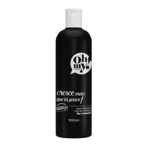 embalagem shampoo oh my cresce mais que tá pouco 500ml