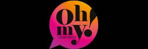 logotipo ohmy cosméticos