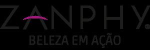 logotipo zanphy beleza em ação